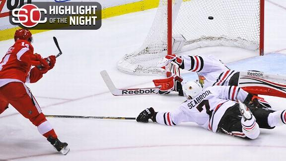 Chicago Blackhawks vs. Detroit Red Wings - Recap - May 20, 2013 - ESPN