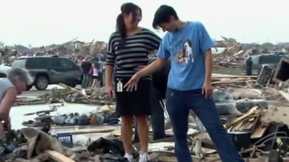 Video - Hefner, Presti On Oklahoma Tornado