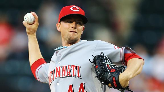 Leake gem powers Reds past punchless Mets
