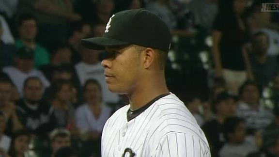 Video - Jose Quintana Shuts Down Red Sox