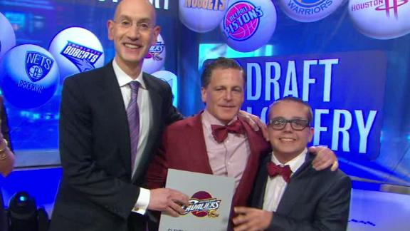 Video - Cavs Win NBA Draft Lottery
