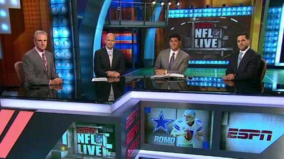 Video - NFL Live OT: Concern For Romo?