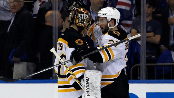 Bruins Win Game 3, Push Rangers To Brink