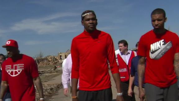 Video - Durant Tours Devastation
