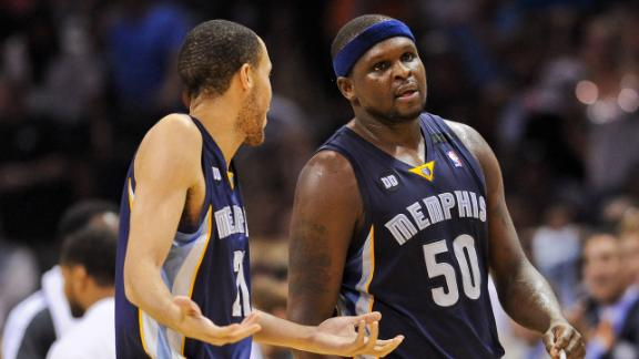 Grizzlies' Allen fined $5,000 for flop in Game 2
