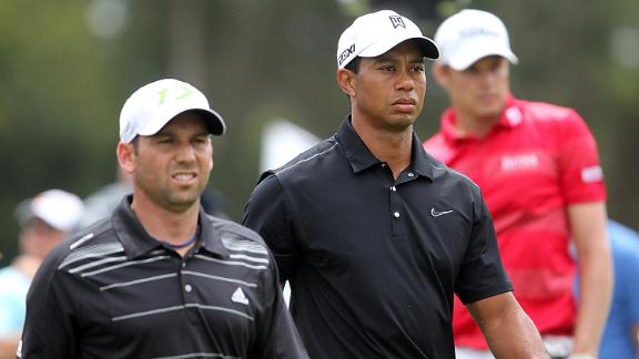 Tiger/Sergio Feud Turns Ugly