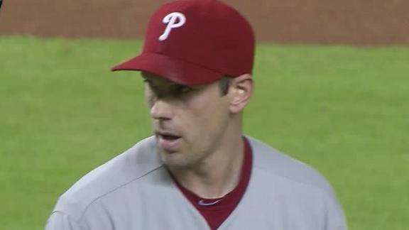 Video - Cliff Lee Tosses 3-Hit Shutout