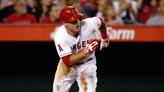 Video - Trout's Cycle Fuels Angels