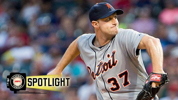 Video - Scherzer Strikes Out Seven In Tigers' Win
