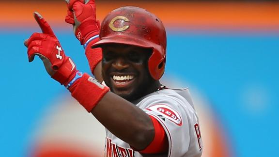 Reds beat Mets thanks to 3-run rally in 9th