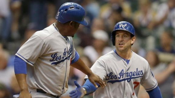 Dodgers Rough Up Brewers