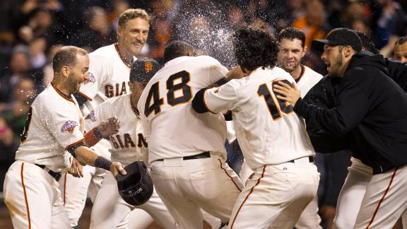 Video - Sandoval's Walk-Off Blast Lifts Giants