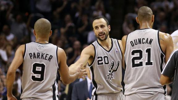 Spurs Survive Scare In Overtime