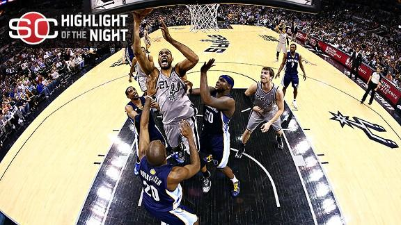Memphis Grizzlies vs. San Antonio Spurs - Recap - May 21, 2013 - ESPN