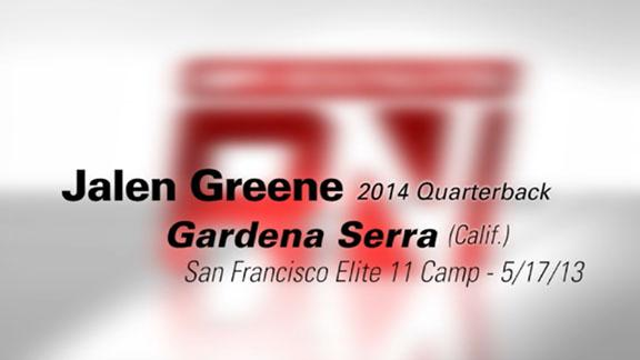 San Fran Elite 11: Jalen Greene highlights