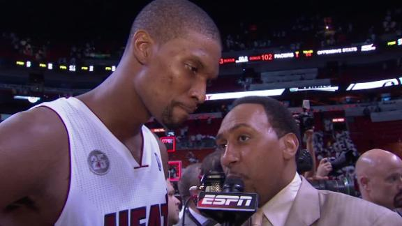 Video - Chris Bosh After Game 1