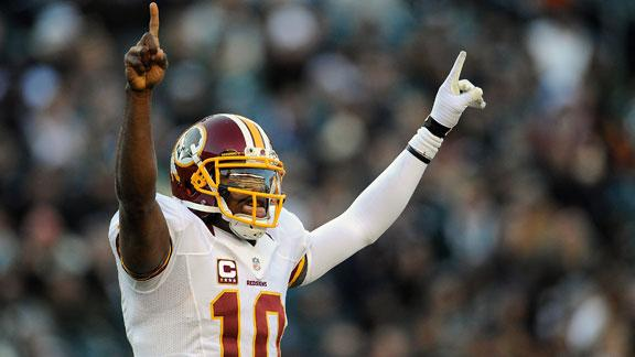 RG III: Goal Week 1 but career comes first