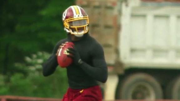 RG III Feeling Good After OTAs