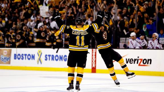 Rangers Eliminated By Bruins