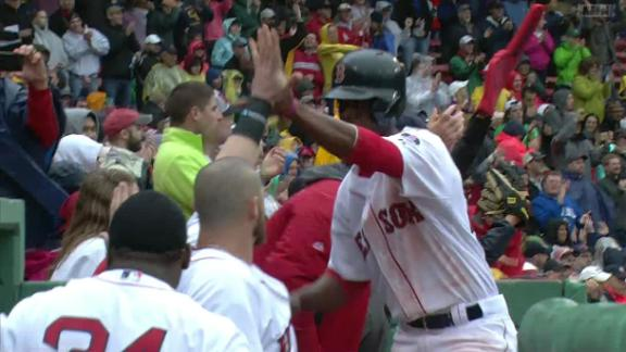 Carp's pinch-hit double helps Red Sox rally