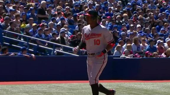 Video - Orioles Edge Dickey, Blue Jays