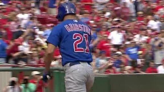 Video - Cubs Rally For 10th Inning Win