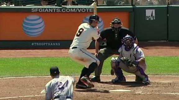 Video - Giants Win Series With Rockies