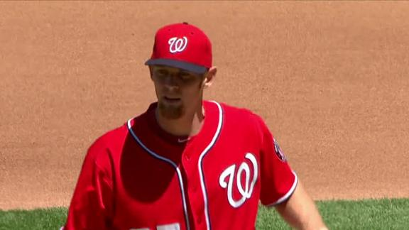 Nats' Harper out of lineup to rest sore knee