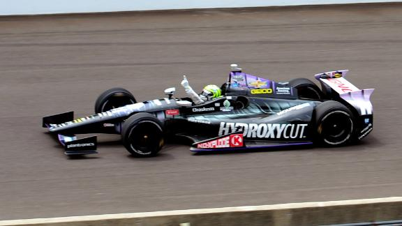 Tony Kanaan Wins First Indianapolis 500