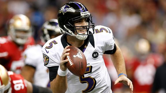 Flacco agent: Ravens made dumb move in '12