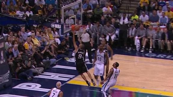 Video - Tony Parker Lays it In