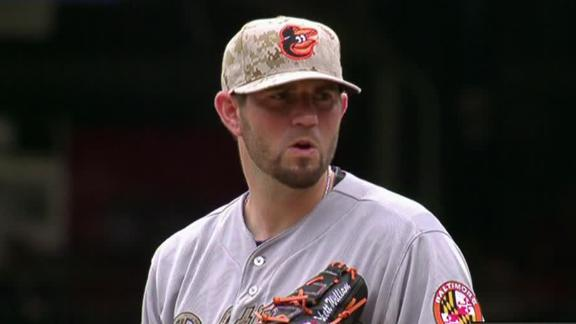 Video - Hammel Sharp In Orioles Win