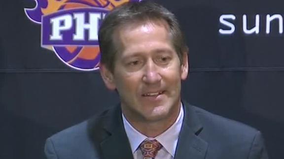 Suns hire former player Hornacek as coach