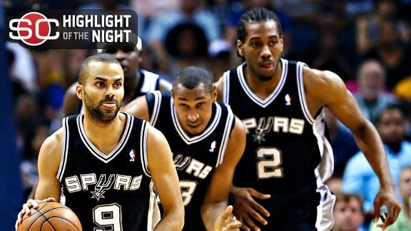 Video - Spurs Stop Grizzlies, Headed To NBA Finals