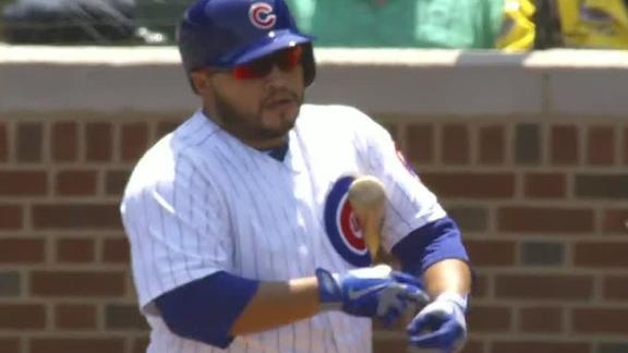 Video - Navarro's Three Homers Power Cubs