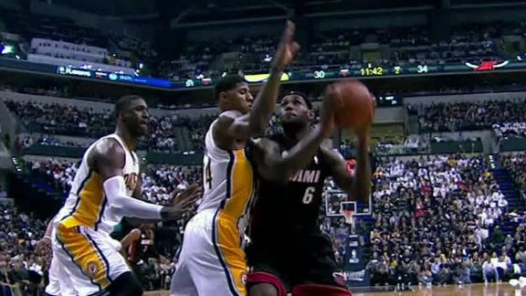 2013 NBA Playoffs - Indiana Pacers accuse Shane Battier of goin…