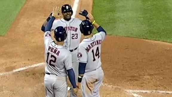 Video - Astros Power Past Rockies In The Sixth
