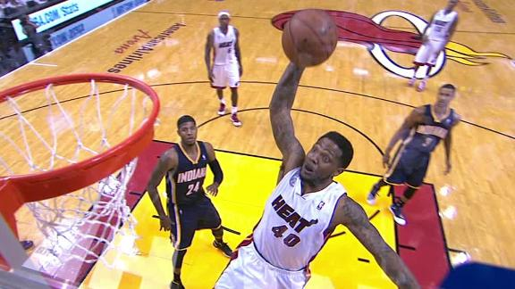 Video - Haslem Can't Be Stopped In Game 5