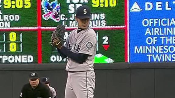 Video - Iwakuma Carries M's Past Twins