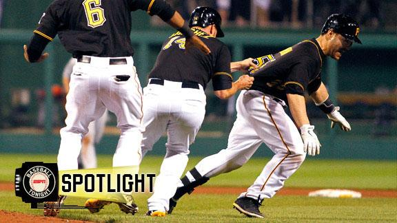 Video - Pirates Walk Off With Win