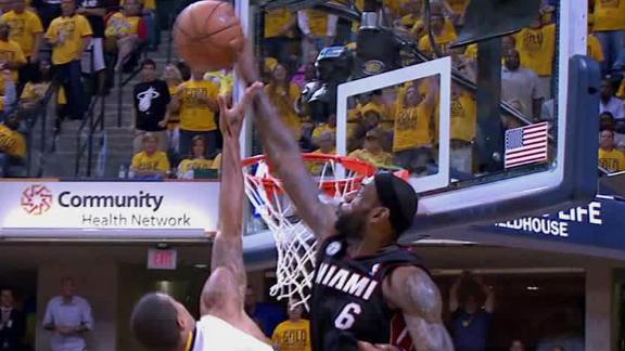 Paul George dunks on Chris Bosh in Heat-Pacers Game 6 (Video)