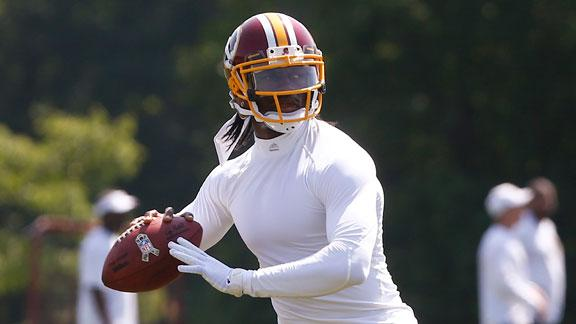 McNabb says RG III has 'too much' going on