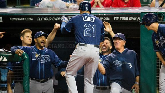 Video - Rays Withstand Rain To Top Indians
