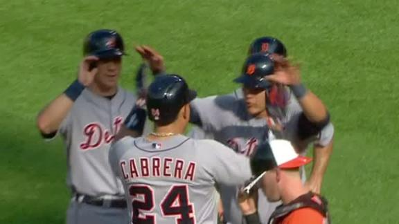 Video - Cabrera, Tigers Crush Orioles