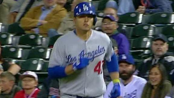 Video - Dodgers Top Rockies In Extra Innings