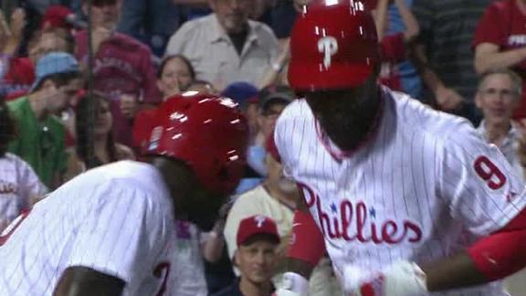 Brown homers again as Phillies drub Marlins
