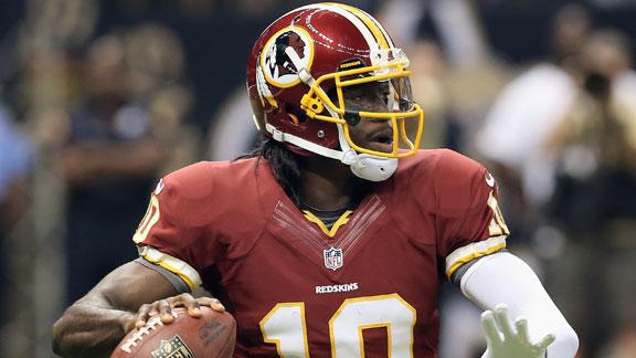 McNabb 'a fan' of RG III, just trying to help