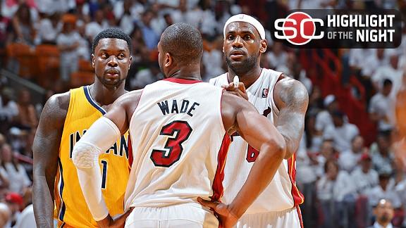 Video - Heat Advance To Third Straight Finals