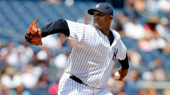 Video - CC Goes The Distance As Yanks Sweep