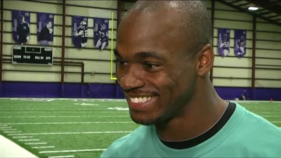 Video - Peterson's Expectations For Vikings